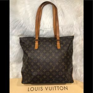 Authentic Louis Vuitton Cabas Mezzo #1.1N